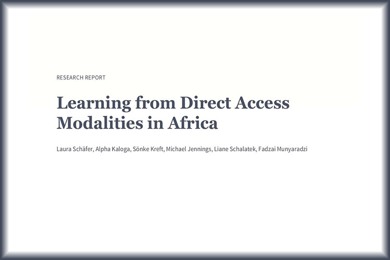 Learning from Direct Access Modalities in Africa