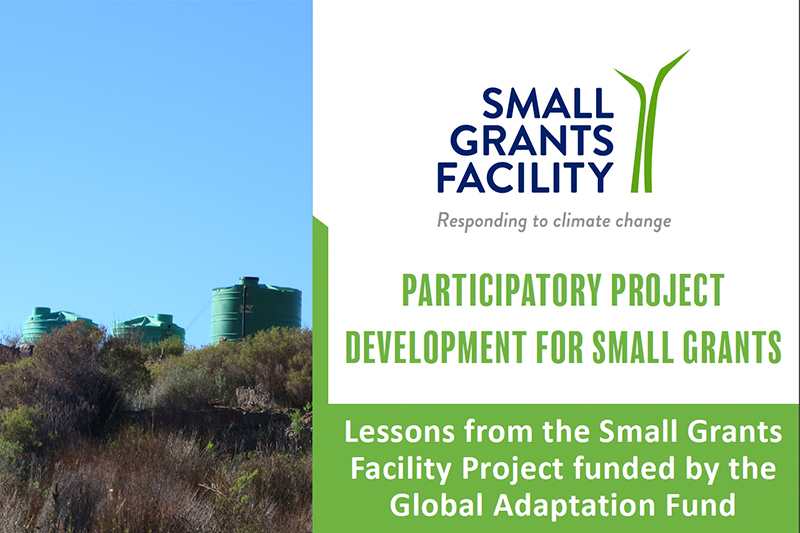 CA SGF Case Study: Participatory Project Development for Small Grants