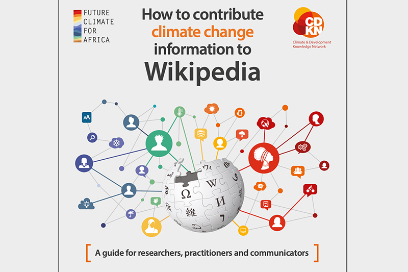 GUIDE: How to contribute climate change information to Wikipedia